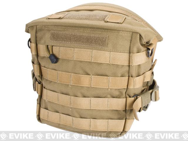 Black Owl Gear / Phantom Transformer XL MOLLE Bag / Dump Pouch - Desert Tan