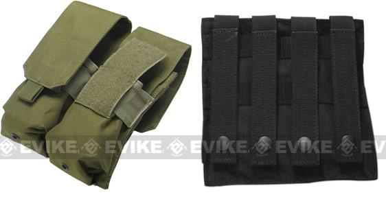 Phantom Gear Modular MOLLE Ready Tactical Double M4 M16 Magazine Pouch - ACU