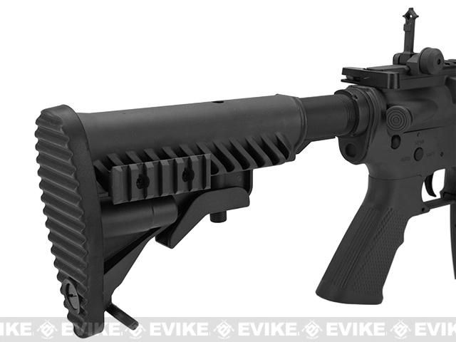 APS Kompetitor Electric Blowback M4 RIS Carbine Airsoft AEG Rifle (Black)
