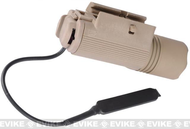 Matrix Remote Pressure Switch for M3 Series Tactical Flashlight (Tan)