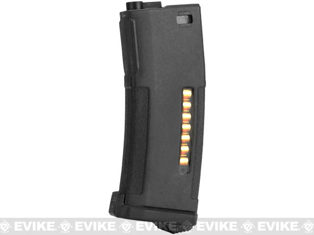 PTS 150rd Mid-Cap Enhanced Polymer Magazine (EPM) for M4 / M16 Series Airsoft AEG Rifles - Black