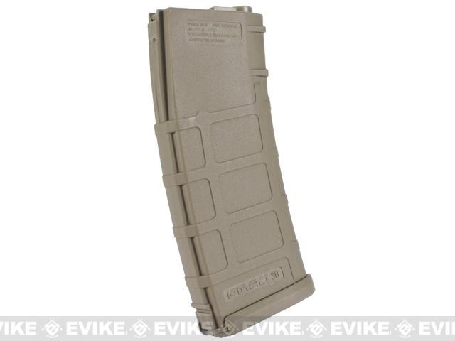 PTS 350rd Polymer Magazine Gen2 for M4/M16 Airsoft AEG Rifles - Dark Earth