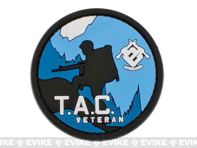 T.A.C. (The Airsoft Camp) Veteran - Official Evike.com Event IFF Hook and Loop Morale Patch