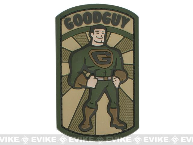 Mil-Spec Monkey Goodguy PVC Hook and Loop Patch - Multicam