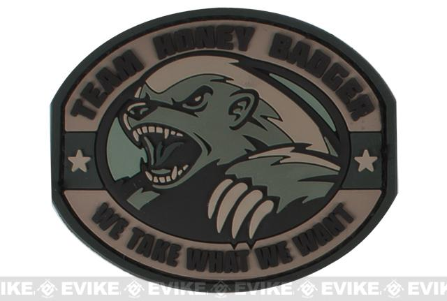 Mil-Spec Monkey Honey Badger PVC Patch - ACU