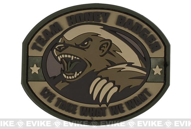 Mil-Spec Monkey Honey Badger PVC Patch - Multicam