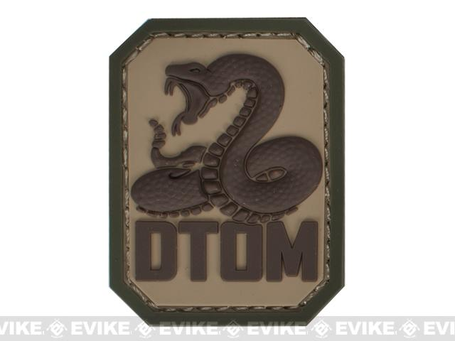 Mil-Spec Monkey DTOM PVC Hook and Loop Patch - Multicam