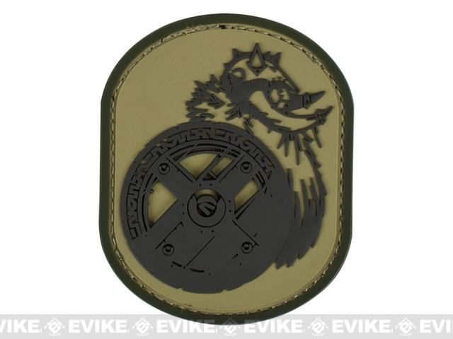 Mil-Spec Monkey Berserker PVC Patch - Multicam