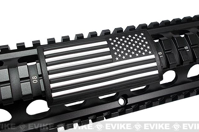 Custom Gun Rails (CGR) Large PVC Grip - U.S. Flag  (Stars Right)