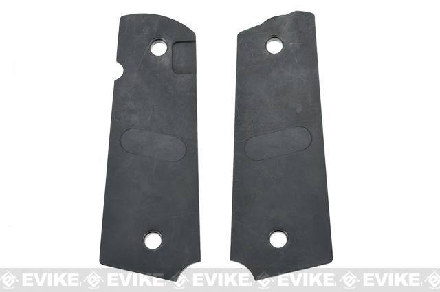 Strike Industries CNC Polymer Enhanced 1911 Grip Panels - Diamond Cutter / Semi-Gloss
