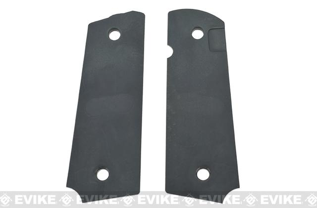 Strike Industries CNC Polymer Enhanced 1911 Grip Panels - Diamond Cutter / Matte