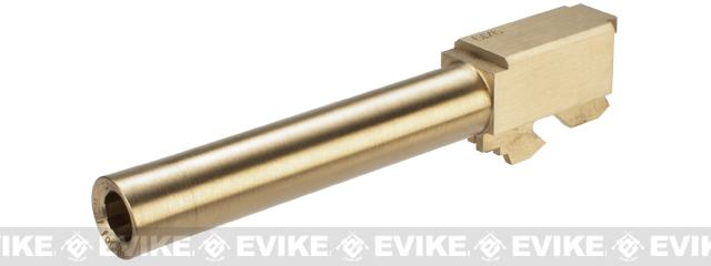 z RA-Tech CNC Brass Outer Barrel for KWA / KSC G Series 17 Airsoft GBB Pistols