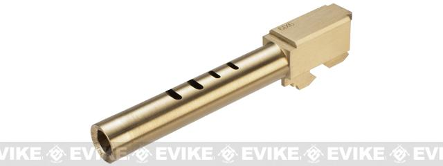 RA-Tech CNC Brass Outer Barrel for KWA / KSC G Series 18 Series Airsoft GBB Pistols