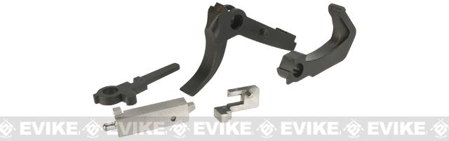RA-Tech Steel CNC Trigger Set for WE MSK Series Airsoft GBB Rifles