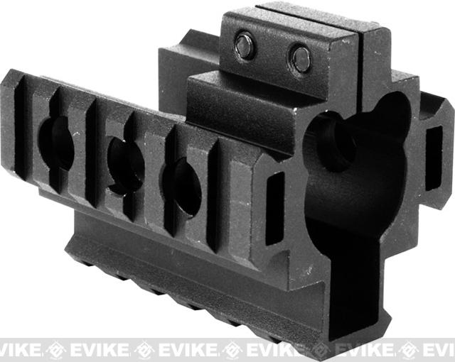 Real Steel Grade AR-15 M4 M16 Tactical Tri-Rail Barrel Mount