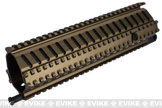 ICS Full Metal SG551 MRS Rail Interface System - Dark Earth