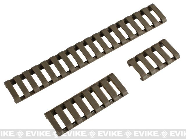 Element 18-Slot LoPro Rail Cover Set (Color: Tan)