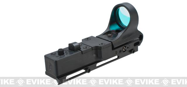 RD Dynamics Picatinny Rail Mounted Red Dot Sight - Black