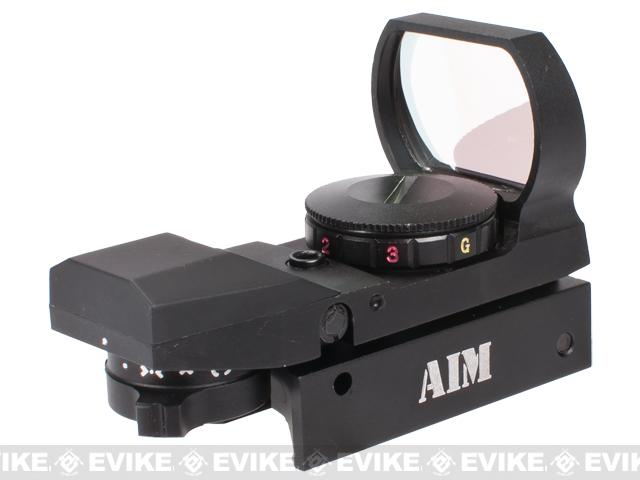 AIM Sports Dual Illuminated Panorama Red Dot Scope - (Operator)