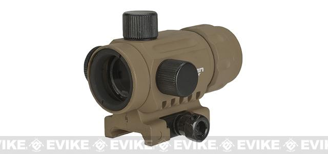 V-Tactical 1x20mm Micro Red Dot Sight by Valken - Tan