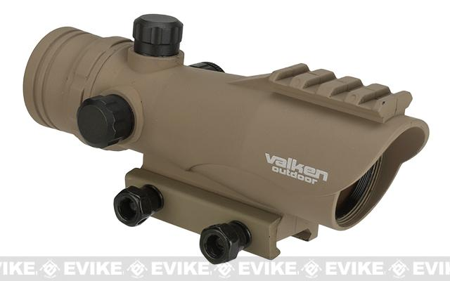 V-Tactical 1x30mm Red Dot Sight by Valken - Tan