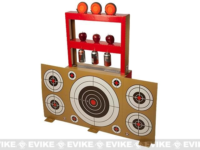 The Right Now Range™ 3D Custom Shooting Target for Airsoft, Air Guns, and Real Steel Guns