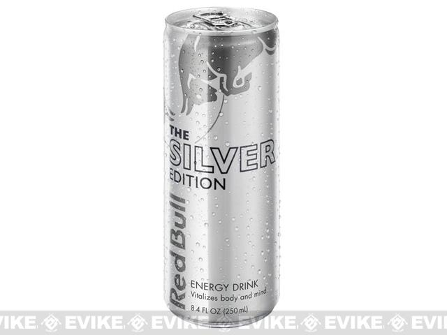 Red Bull Energy Drink 8.4oz - Silver Edition - Single Can