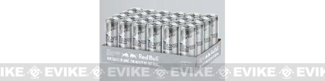 Red Bull Energy Drink 8.4oz - Silver Edition - 24 Can Case