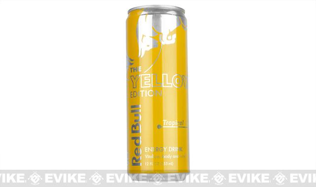 Red Bull Energy Drink 12oz - Yellow Edition- Single Can