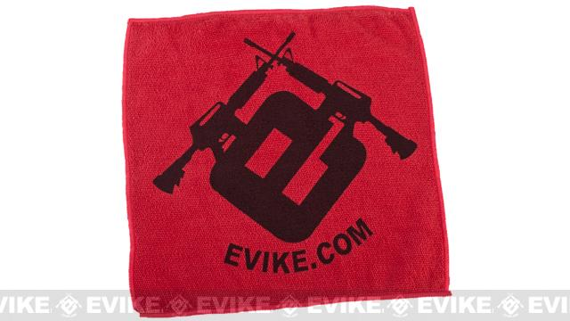 Evike.com Light Weight Airsoft Mil-Sim Essential Red Dead Rag (Microfiber Towel)