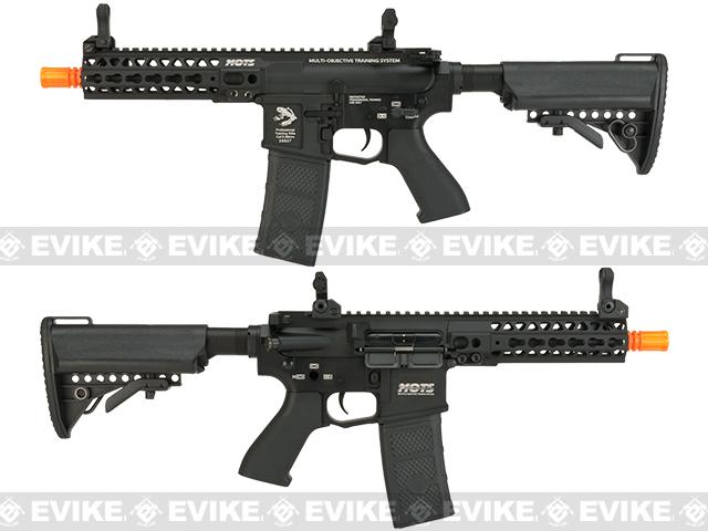 G&P M4 SBR Rapid High Speed Airsoft AEG with Monolithic Upper - Black (Package: Gun Only)