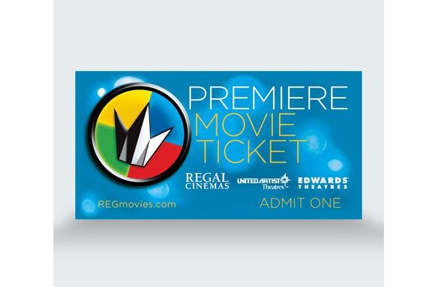 Regal Premiere Movie Ticket - (Package: Two Tickets)