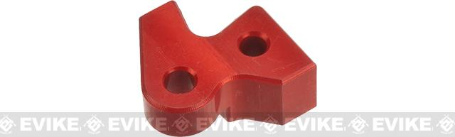 Retro Arms CNC Machined Aluminum Spring Guide Thrust Nut for M249 Series Airsoft AEGs - Red