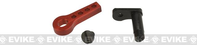 Retro Arms CNC Machined Aluminum Trigger Safety Latch for V2 Gearboxes - Red