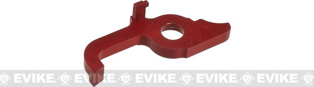 Retro Arms CNC Machined Aluminum Cut off lever for M4/Version 2 Series Airsoft AEGs - Red