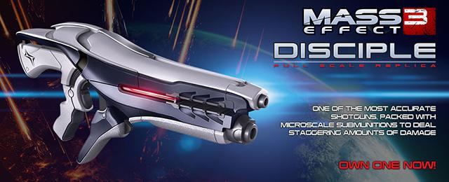 Triforce Limited Edition Mass Effect 3: Disciple Full Scale Replica