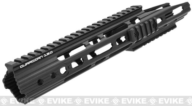 APS Guardian RIS Handguard Conversion Kit for M4 / M16 Series Airsoft AEG Rifles - Black