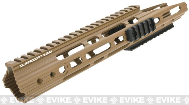 APS Guardian RIS Handguard Conversion Kit for M4 / M16 Series Airsoft AEG Rifles - Dark Earth