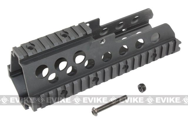 Matrix CNC Aluminum Railed Handguard for G36C / G39 Series Airsoft Rifles