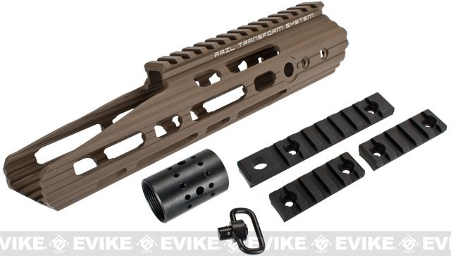 APS 10 Guardian RIS Handguard Set for M4 / M16 Series Airsoft AEG Rifles - Dark Earth
