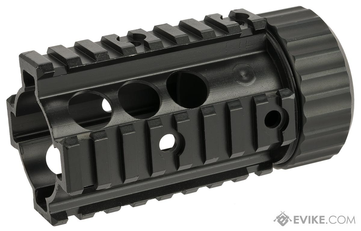 A&K 4 Stubby Free Float Railed Handguard for M4/M16 Series Airsoft AEGs