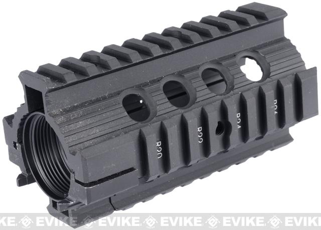 JG CNC Aluminum CQB RIS Handguard (115mm) for M4/M16 Airsoft AEG