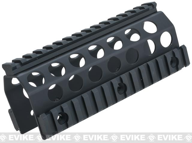 CNC Upper RAS System for MK46 Series Airsoft AEG Machine Guns