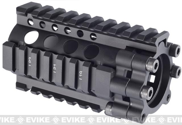Madbull Daniel Defense 4 Lite RIS Kit for Airsoft M4 / M16 Series - (Black)