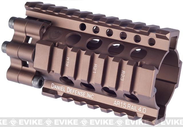 Madbull Daniel Defense 4 Lite RIS Kit for Airsoft M4 / M16 Series - (Dark Earth)