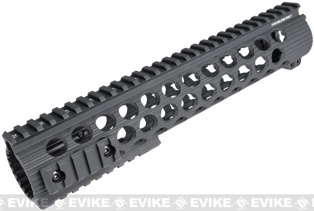 Madbull Airsoft Official Licensed Troy Industries TRX Battle Rail 11 for Airsoft M4/M16 Series AEGs (Black)
