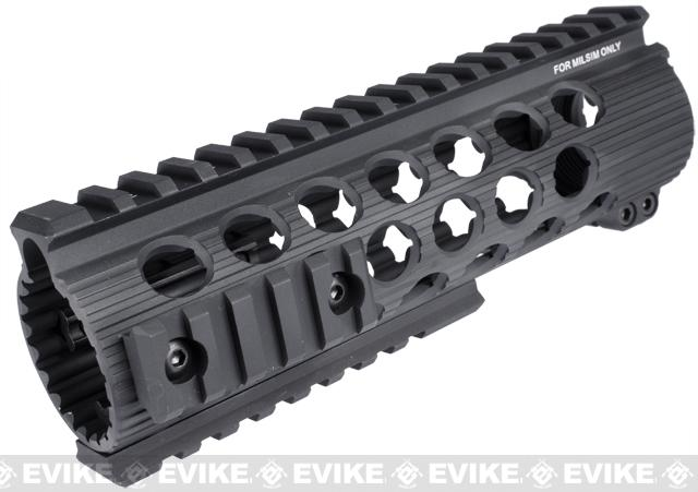 Madbull Airsoft Official Licensed Troy Industries TRX Battle Rail 7 for Airsoft M4/M16 Series AEGs (Black)