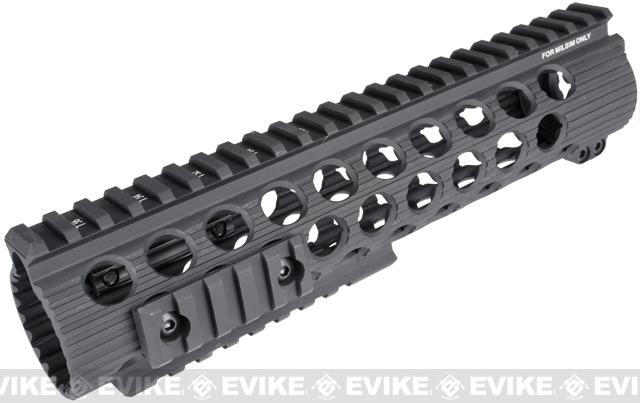 Madbull Airsoft Official Licensed Troy Industries TRX Battle Rail 9 for Airsoft M4/M16 Series AEGs (Black)