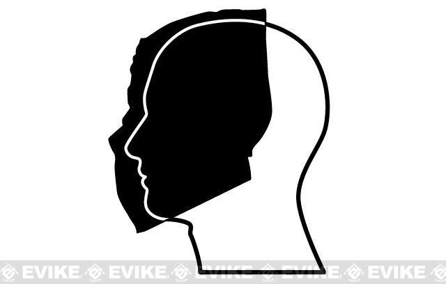 Evike.com R-Custom Fiberglass Wire Mesh Army 40D Mask - Original Flames