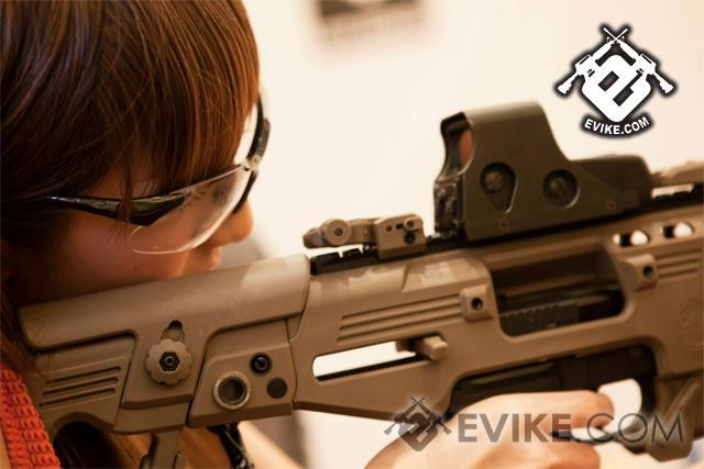 z Evike Custom CAA Airsoft Roni G-Series Carbine Airsoft GBB Pistol - Dark Earth